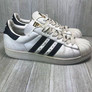 Adidas Retro Black And White Sneakers